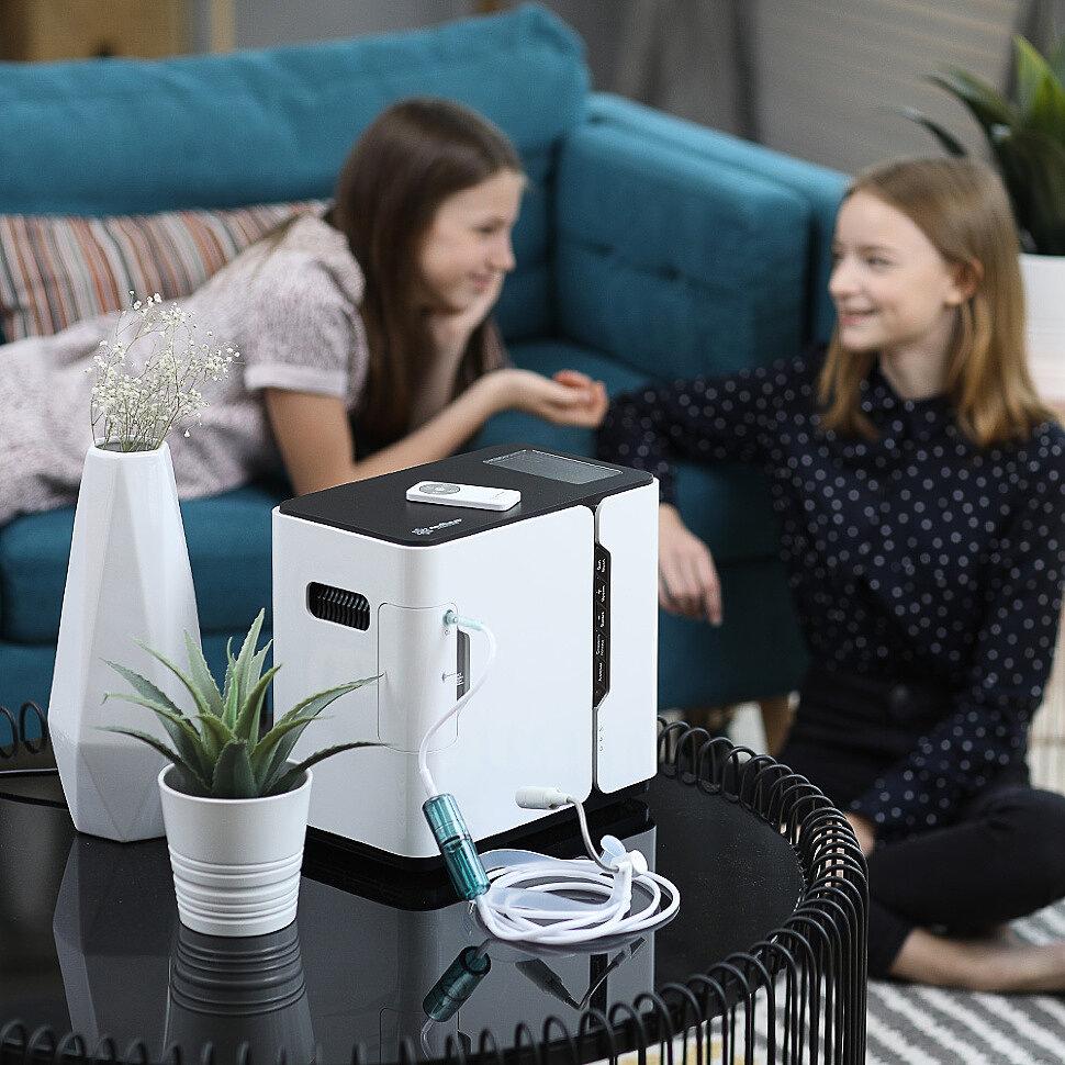 Как применять кислородный концентратор в домашних условиях